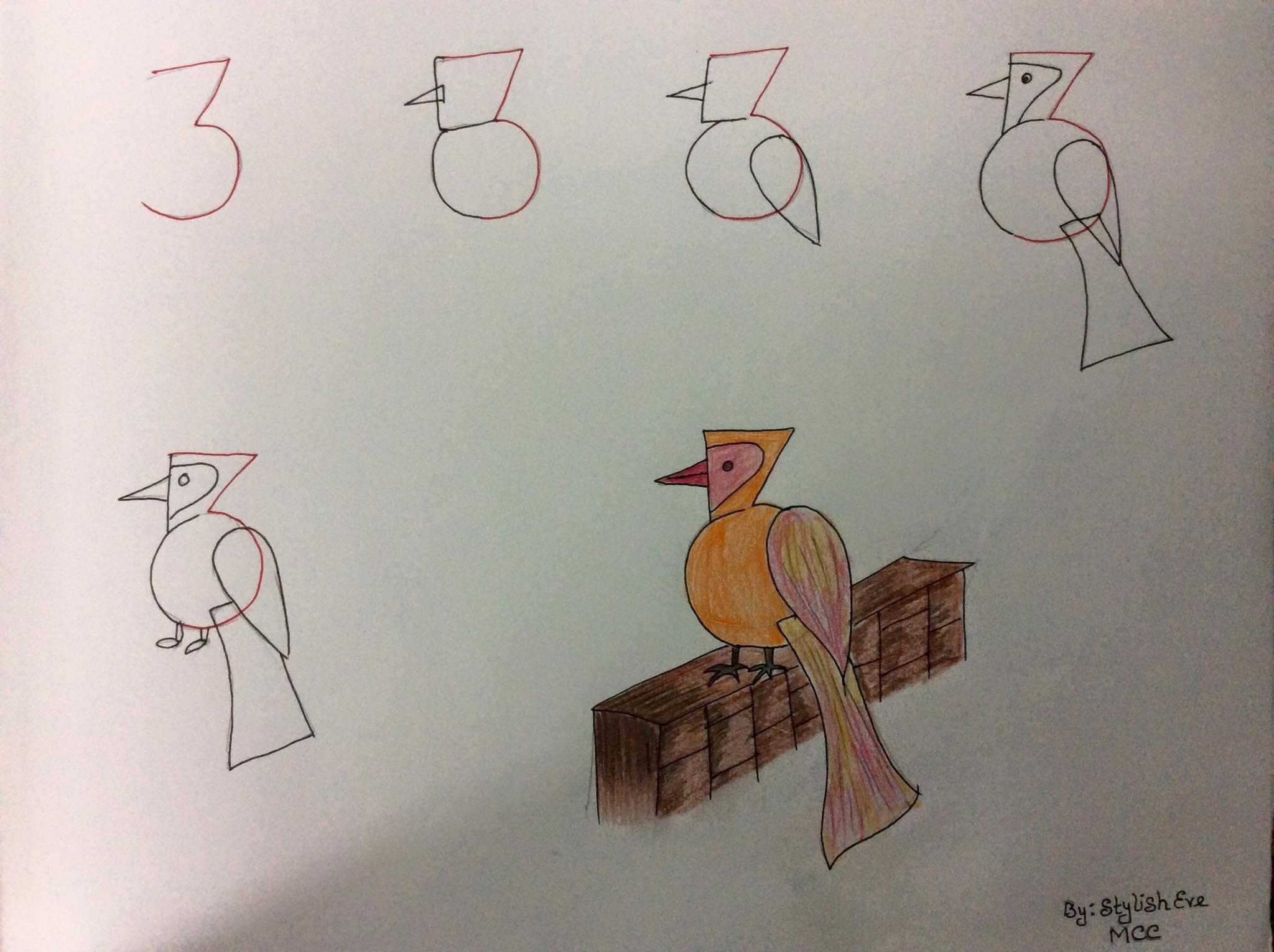 aprende a dibujar con numeros y letras 10