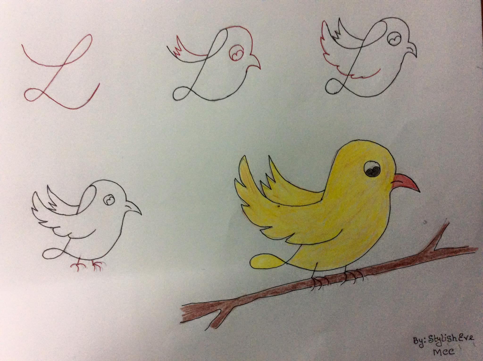 aprende a dibujar con numeros y letras 12