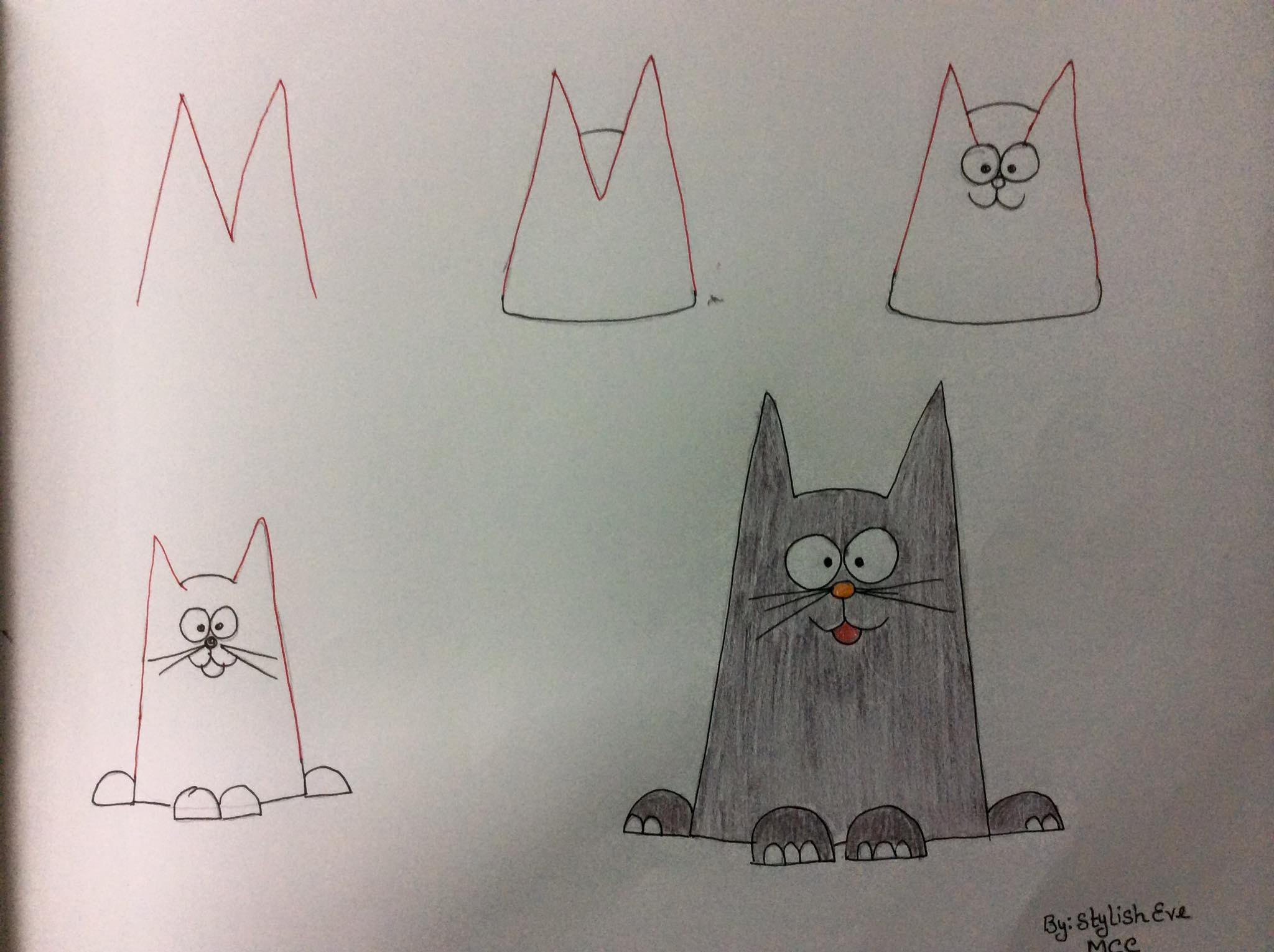 aprende a dibujar con numeros y letras 14