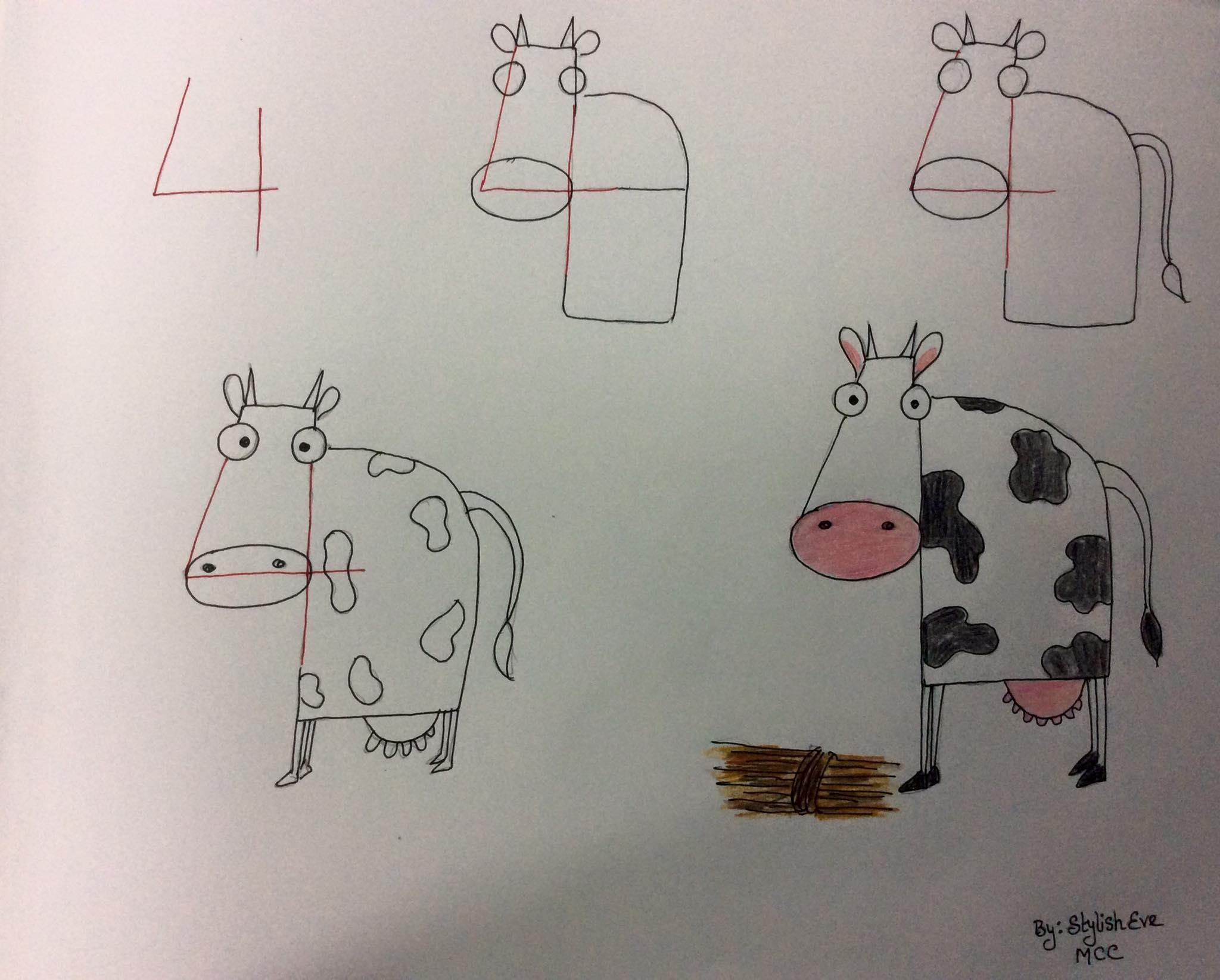 aprende a dibujar con numeros y letras 9