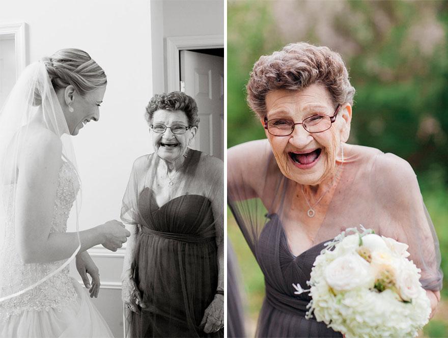 dama de honor a sus 89 años 2