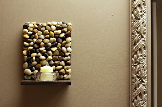 20 fant sticas ideas para decorar tu casa con piedras de for Como colocar piedra
