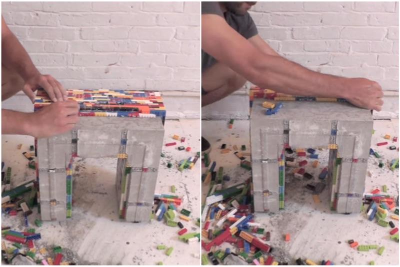 mesa lego y cemento 10