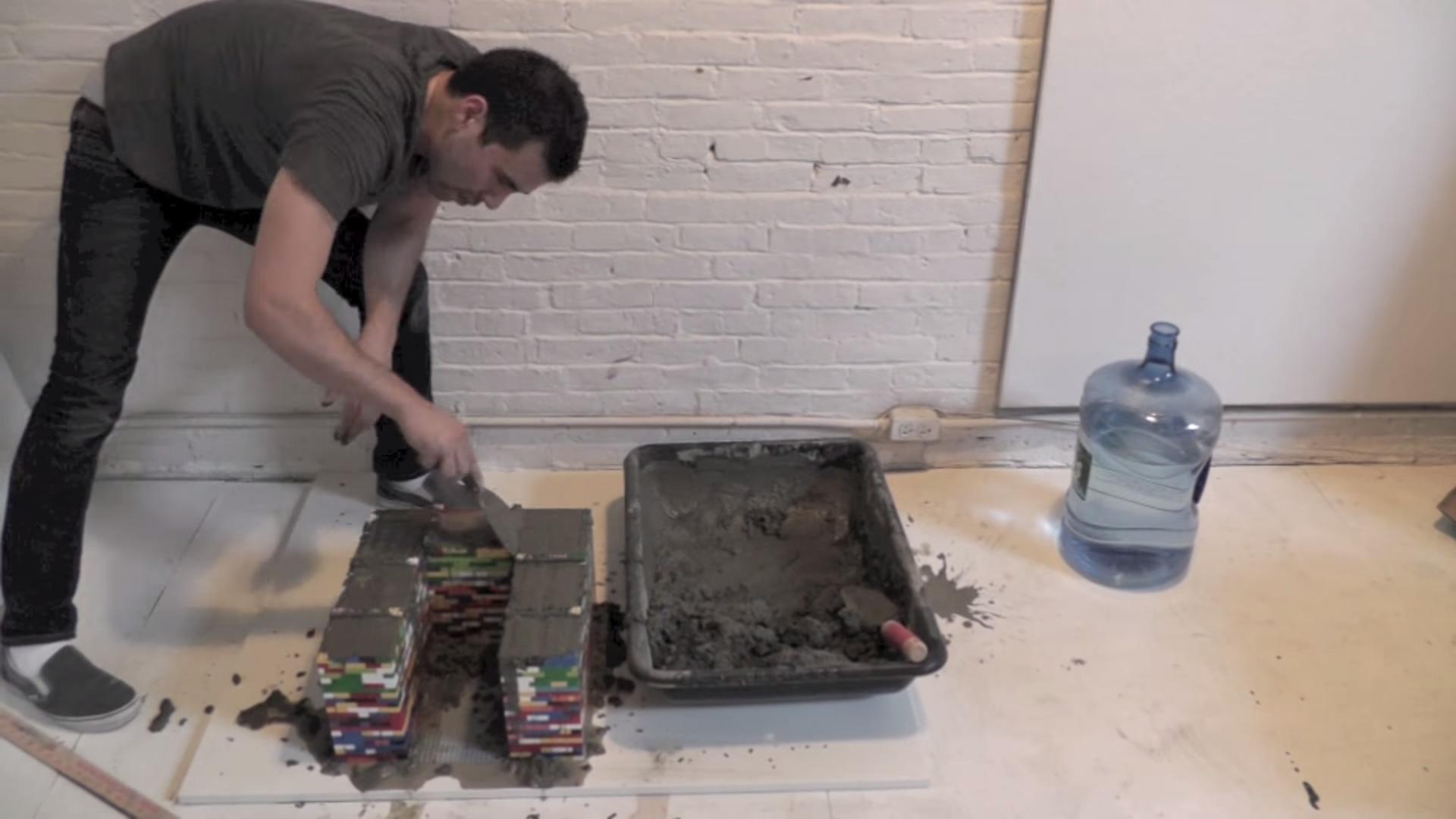 mesa lego y cemento 6
