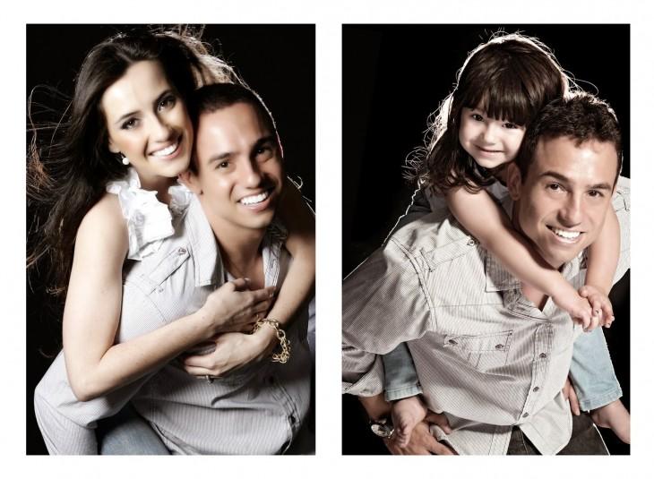 padre recrea fotos con su hija 2