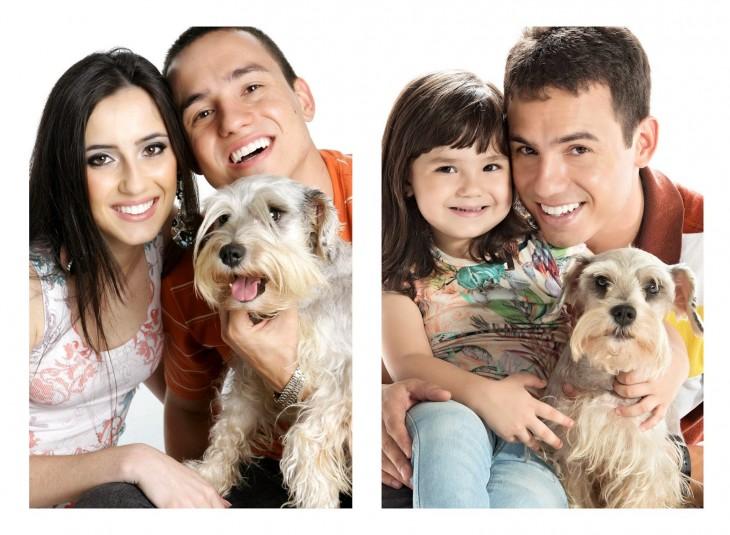 padre recrea fotos con su hija 4