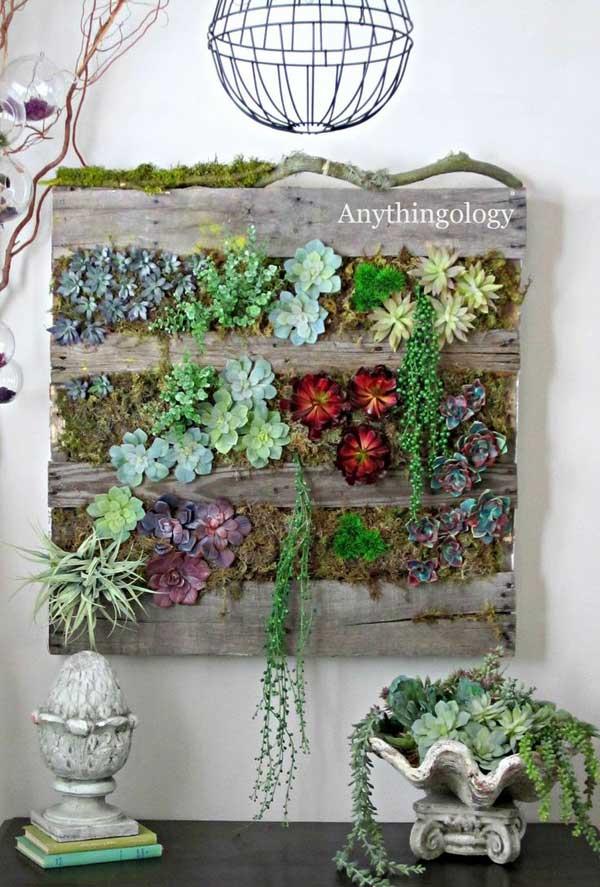 Renueva las paredes de tu hogar con estas 22 ideas - Maceteros para arboles ...