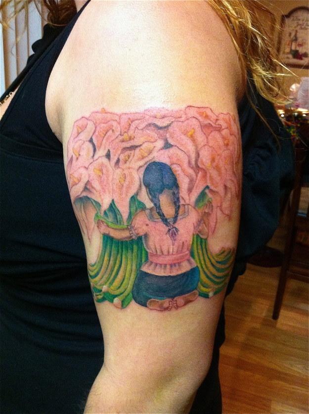 tatuajes inpirados en obras famosas 28