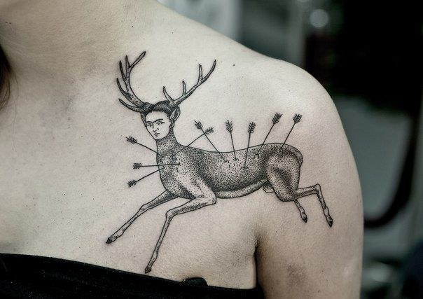 tatuajes inpirados en obras famosas 3