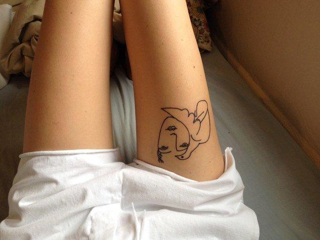 tatuajes inpirados en obras famosas 31