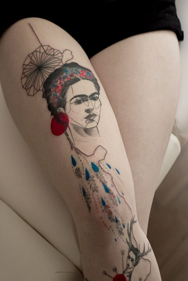 tatuajes inpirados en obras famosas 4