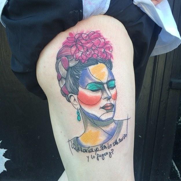 tatuajes inpirados en obras famosas 5