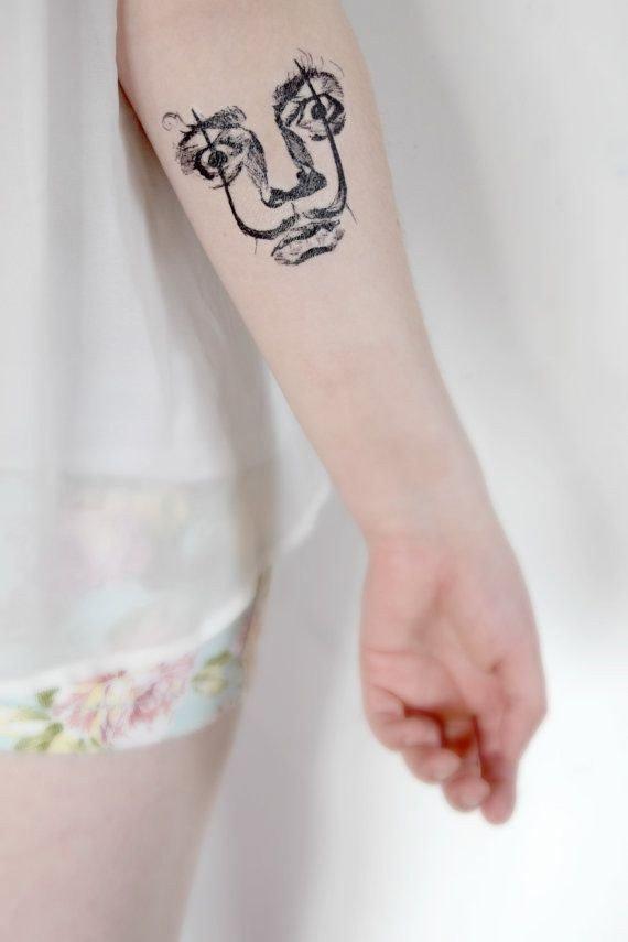 tatuajes inpirados en obras famosas 7