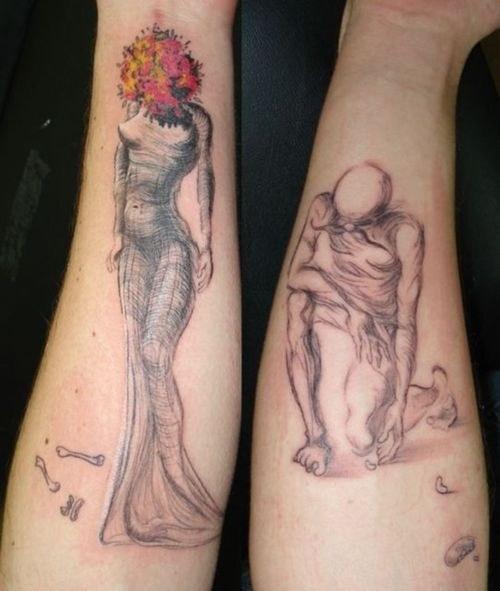 tatuajes inpirados en obras famosas 8