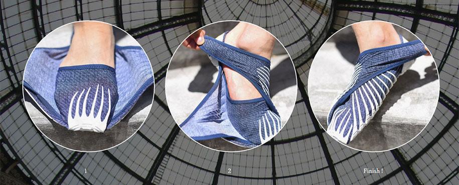 Y esto es una zapatilla Vibram