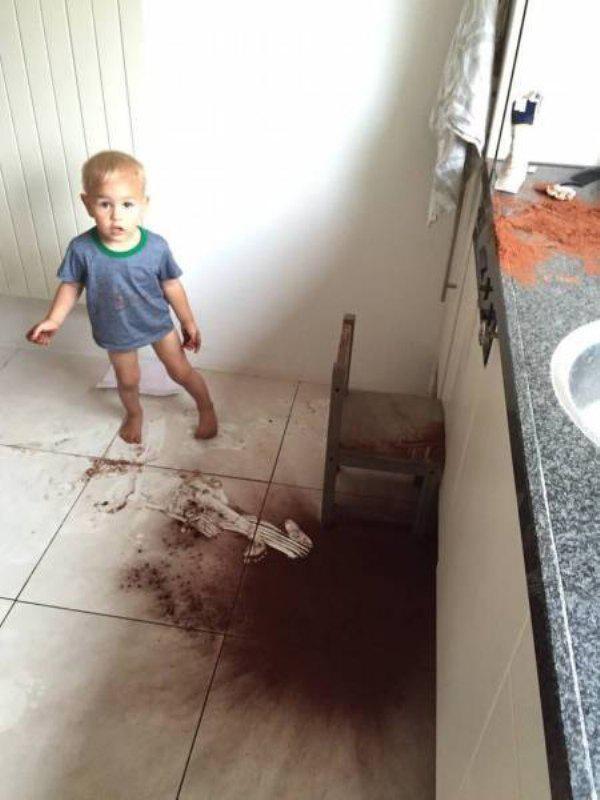 a veces los niños son un poco destructivos 1
