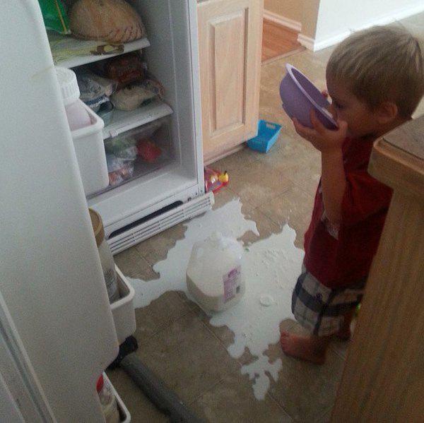 a veces los niños son un poco destructivos 19