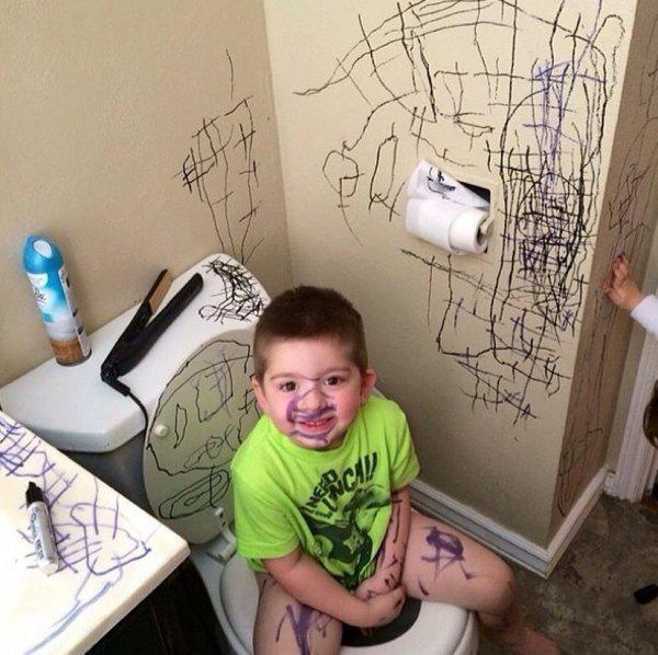 a veces los niños son un poco destructivos 20