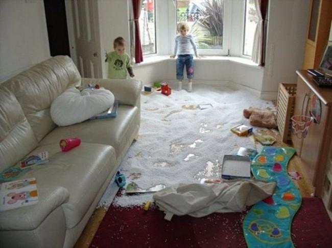 a veces los niños son un poco destructivos 27