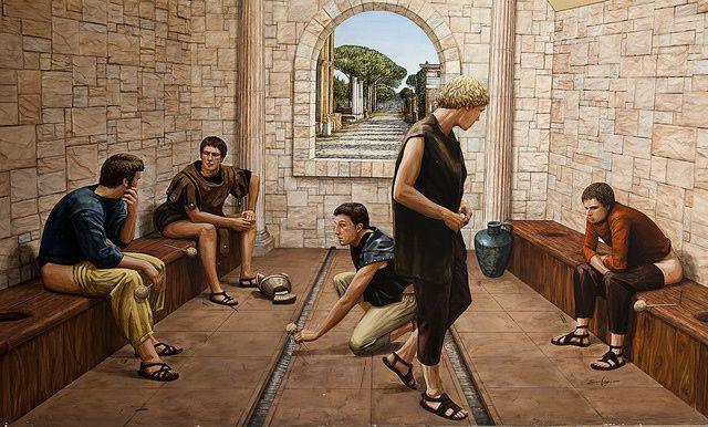 Baños Publicos Romanos Antiguos ~ Dikidu.com
