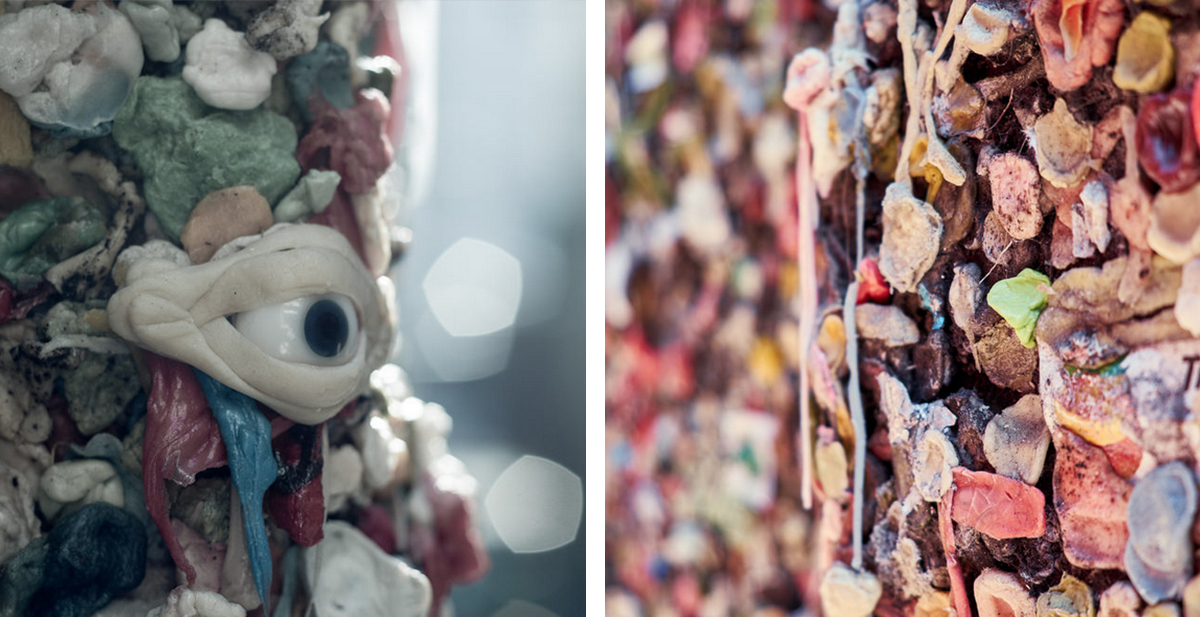 bubblegum alley y gum wall las calles con mas chicles del mundo