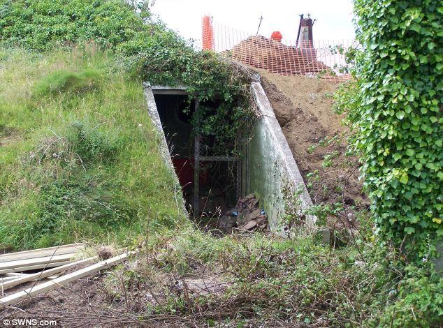 bunker de la II guerra mundial convertido en un apartamento 8