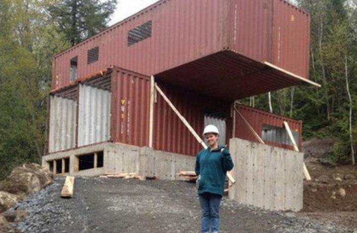 Cuatro contenedores son suficientes para fabricarte una - Casa de contenedores ...