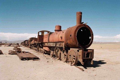 cementerio de trenes uyuni 1