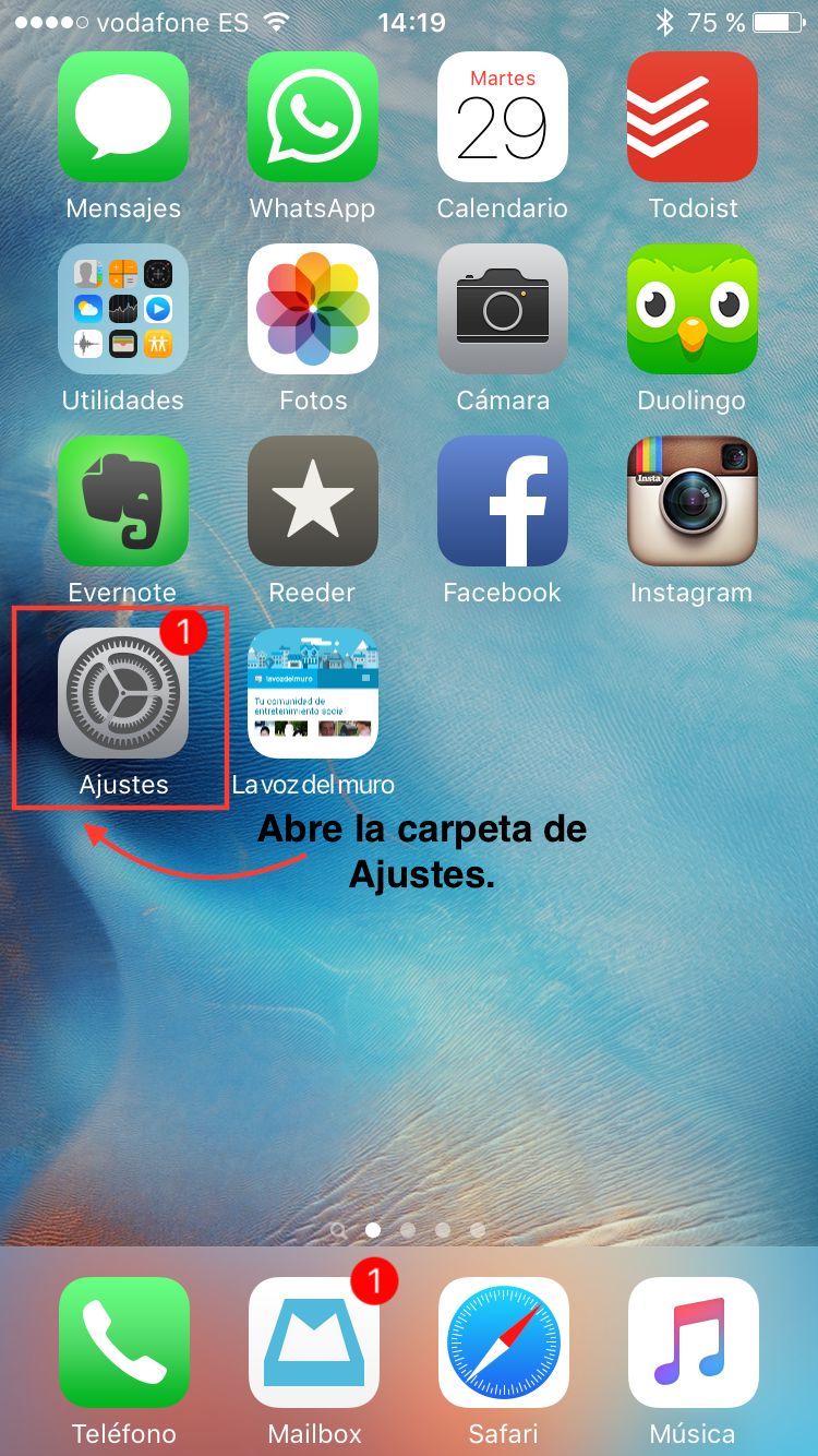 desactivar asistencia wifi apple iphone 1