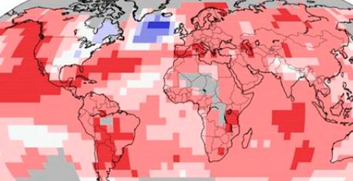 imagen termica del planeta