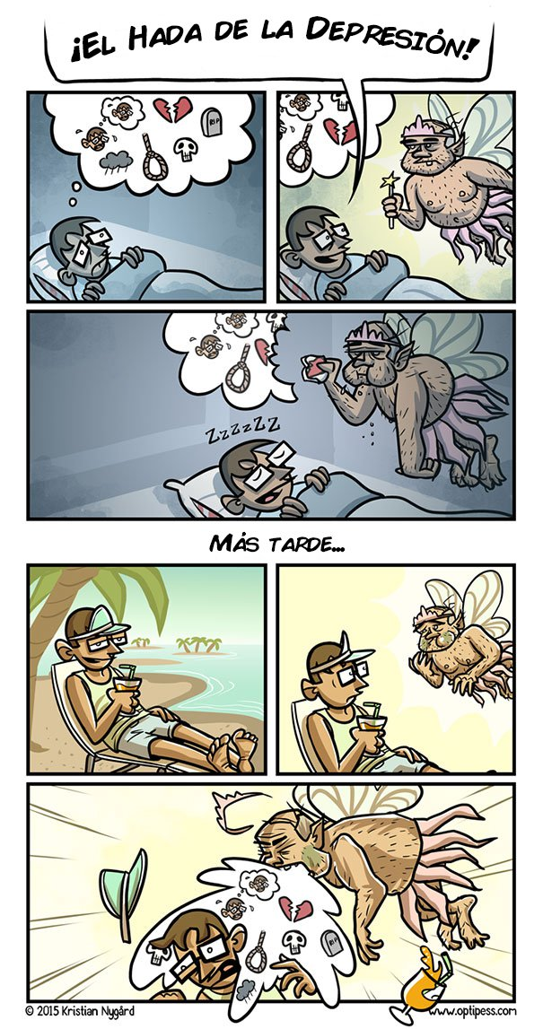 la depresion en viñetas 4