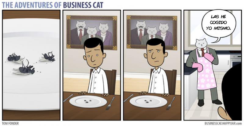 las aventuras de un gato jefe 11