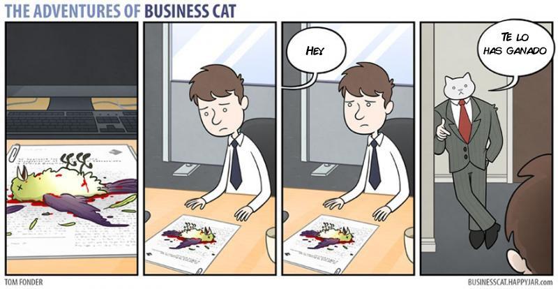 las aventuras de un gato jefe 15