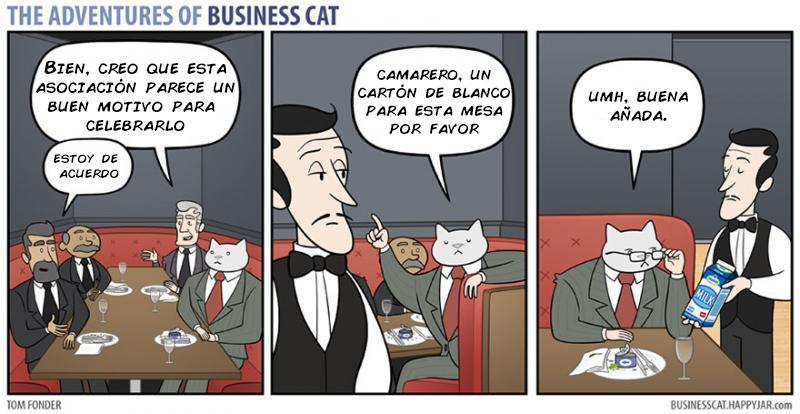 las aventuras de un gato jefe 2