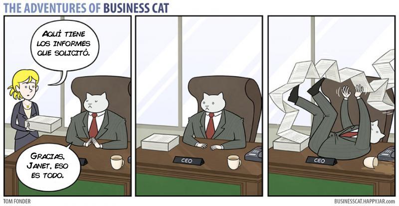 las aventuras de un gato jefe 5