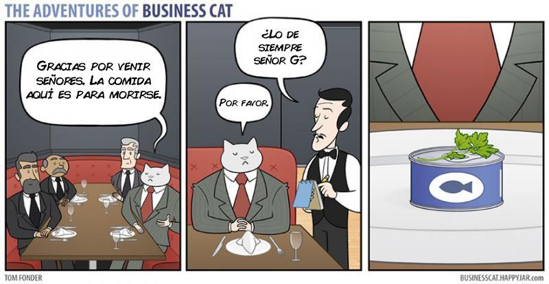 las aventuras de un gato jefe 6