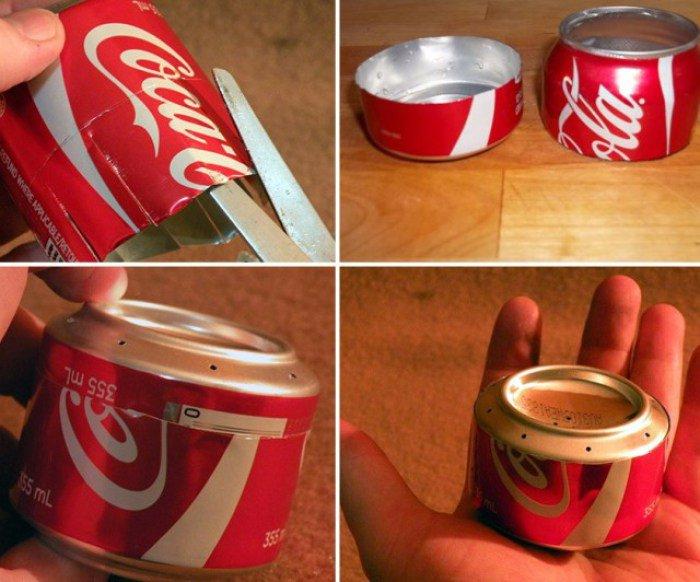 minicocina con 2 latas de refresco y alcohol 4