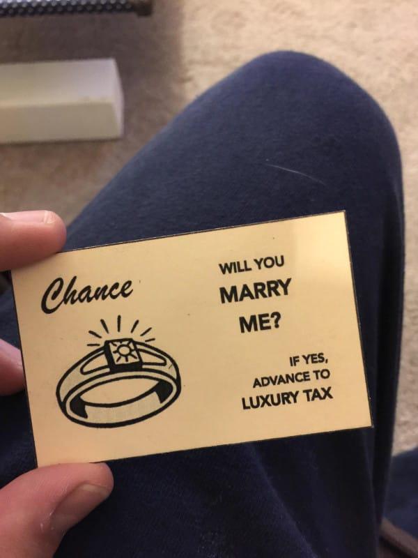 pedida de mano monopoly 11