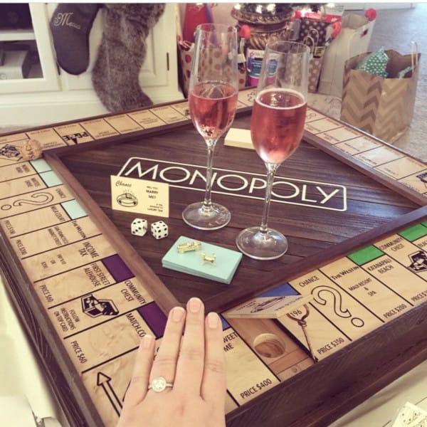 pedida de mano monopoly 13