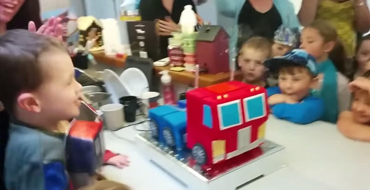 tarta transformer optimus prime