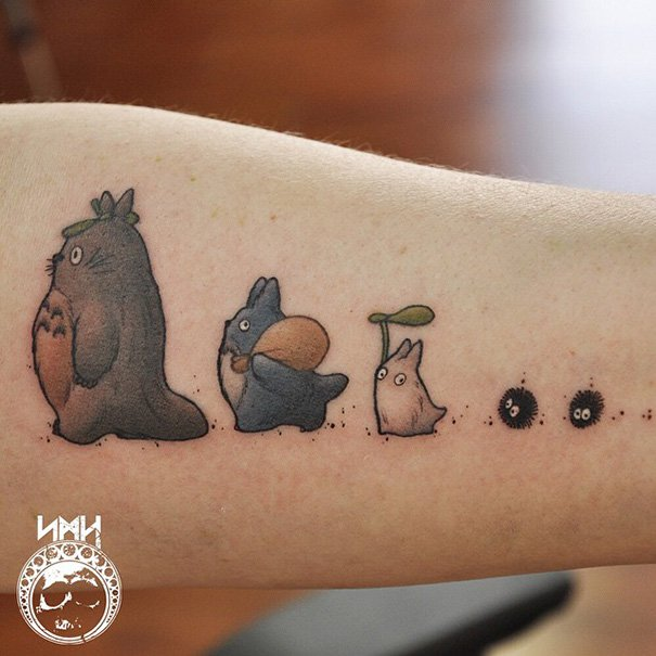 tatuajes del estudio ghibli 10
