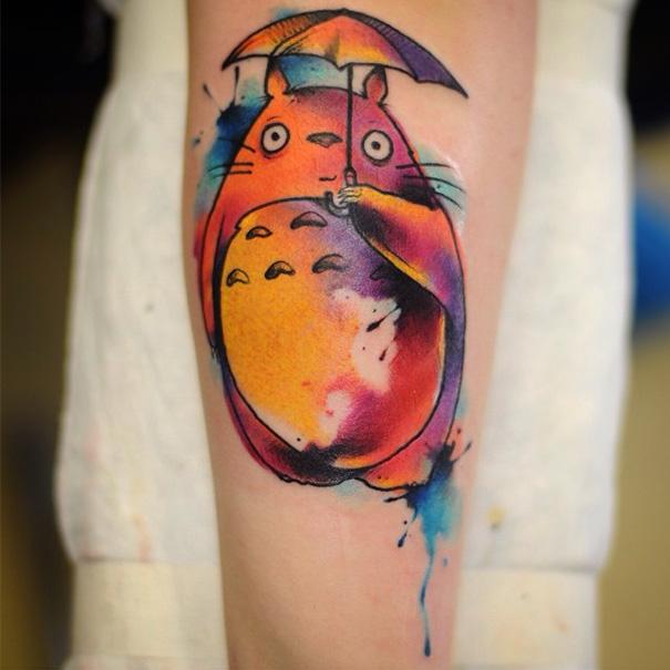 tatuajes del estudio ghibli 12