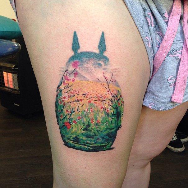 tatuajes del estudio ghibli 14