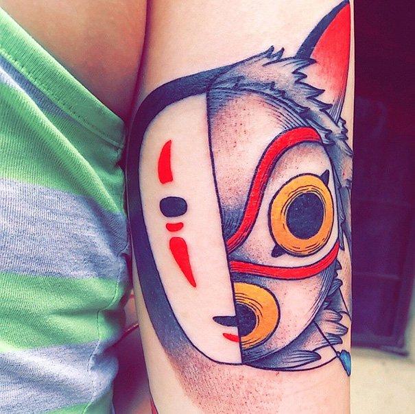 tatuajes del estudio ghibli 18