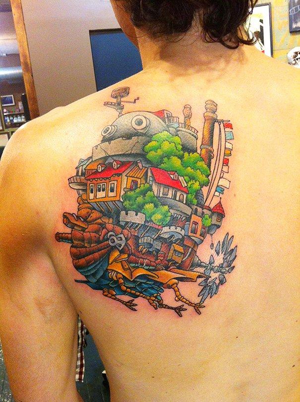 tatuajes del estudio ghibli 19