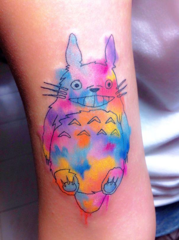 tatuajes del estudio ghibli 2