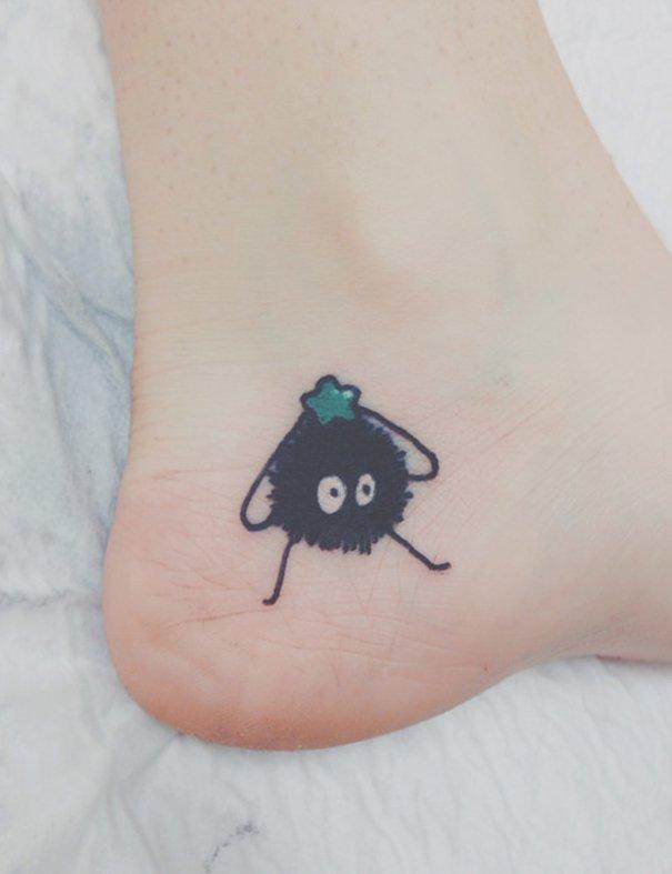 tatuajes del estudio ghibli 20