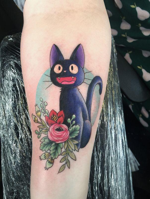 tatuajes del estudio ghibli 3
