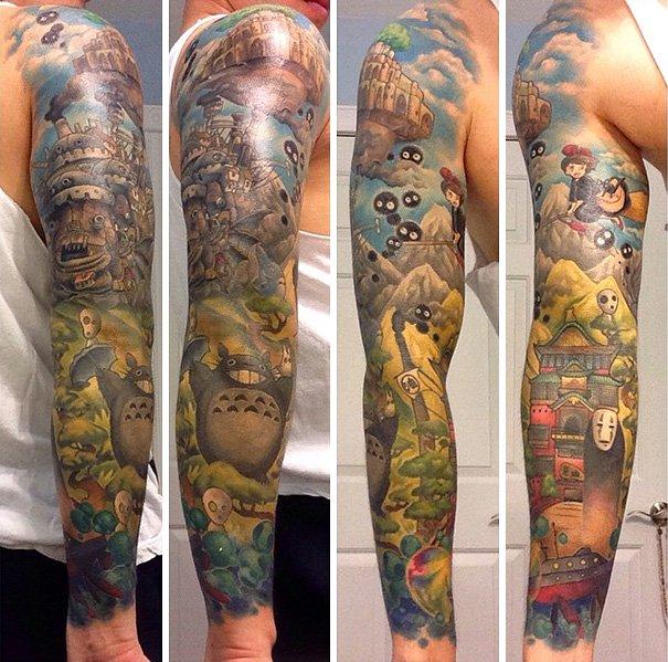 tatuajes del estudio ghibli 6
