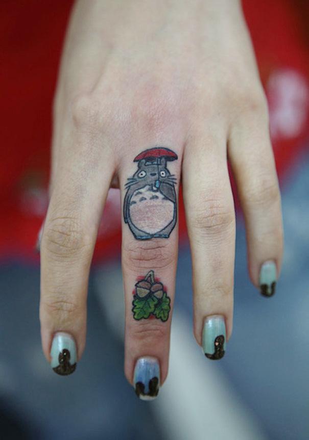tatuajes del estudio ghibli 7